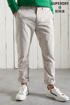 Superdry Organic Cotton Core Slim Chino Trousers