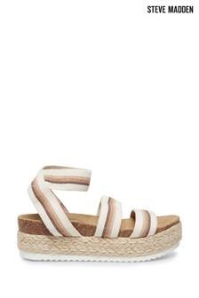 Steve Madden Brown Kimmie Sandals
