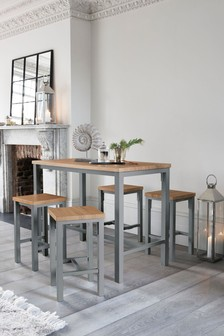 Grey Ellison Bar Set