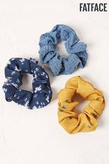 FatFace Scrunchies Three Pack