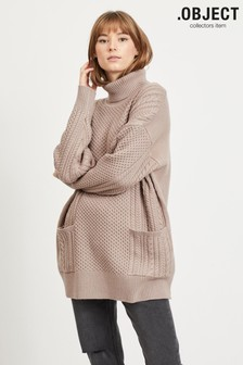 OBJECT Sustainable Tenna Oversized Cable Jumper