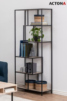 Oak Seaford Tall Shelf By Actona