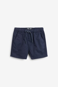 Navy Pull-On Shorts (3mths-7yrs)