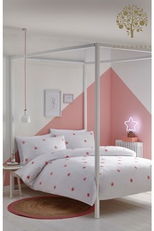 Tufted Star Duvet Cover and Pillowcase Set by Appletree