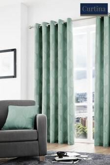 Helsinki Eyelet Curtains by Curtina