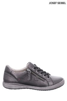 Josef Seibel Metallic Caren Lace-Up Fashion Trainers
