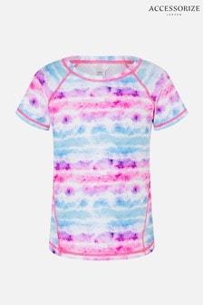 Accessorize Pink Tie Dye Gym T-Shirt