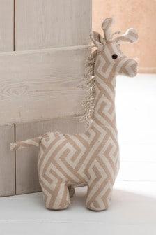 Giraffe Doorstop