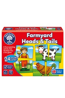 Orchard Toys Farmyard Heads & Tails