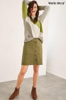 White Stuff Canterbury Twill Skirt