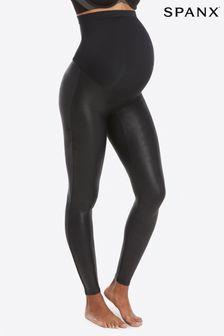 SPANX® Mama Faux Leather Leggings