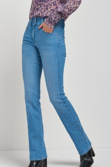 Bright Blue Wash Lift, Slim And Shape Boot Cut Jeans