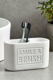 Smile & Brush Toothbrush Tidy