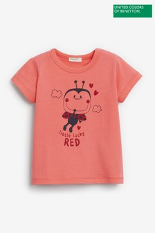 Benetton Character Graphic T-Shirt