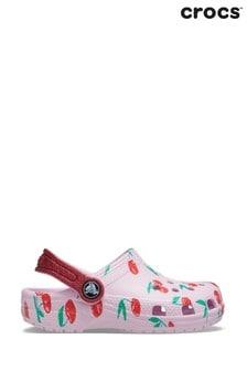 Crocs Pink Cherry Classic Clogs