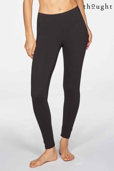 Thought Black Bamboo Base Layer Leggings