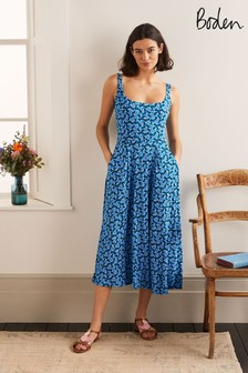 Boden Blue Petronella Jersey Dress