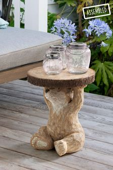 Natural Barnaby Bear Side Table