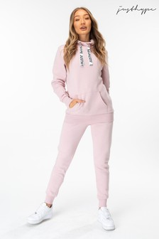 Hype. Womens Pink Joggers