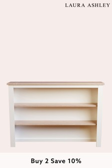 Dorset White Dresser Top For 2 Door 3 Drawer Sideboard by Laura Ashley