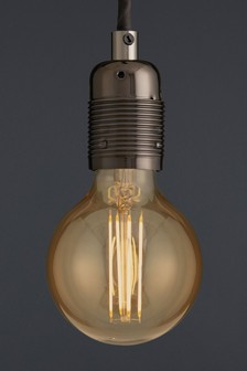 4W LED BC Retro Globe Bulb