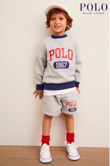 Ralph Lauren Grey Polo Shorts