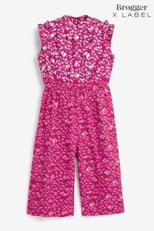 Brogger x Label Pink Floral Jumpsuit