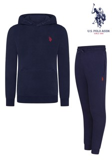 U.S. Polo Assn. Outline Top And Jogger Set