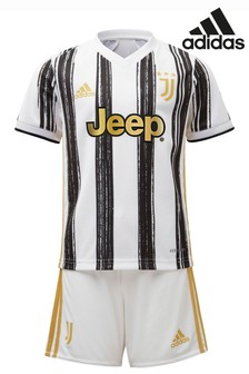 adidas Juventus Home 20/21 Mini Kit