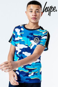 Hype. Blueline Camo T-Shirt