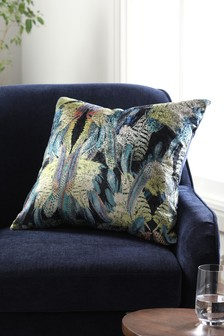 Velvet Feather Cushion