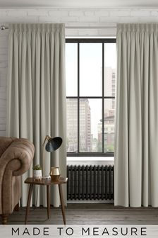 Linen Look Natural Made to Measure Curtains