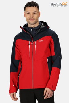 Regatta Red Sacramento VI 3-In-1 Waterproof Jacket