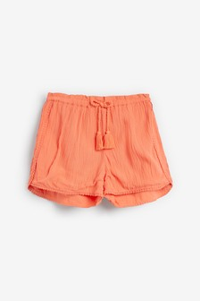 Coral Trim Detail Shorts (3-16yrs)