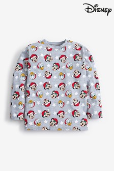 Grey Matching Family Kids Disney™ Christmas T-Shirt (3mths-16yrs)
