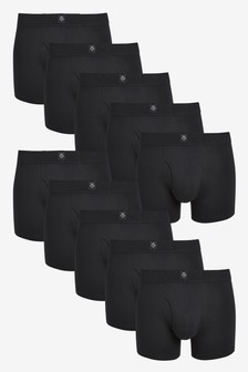 Black Essential A-Fronts Ten Pack
