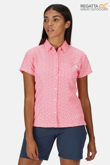 Regatta Womens Mindano V Short Sleeve Shirt