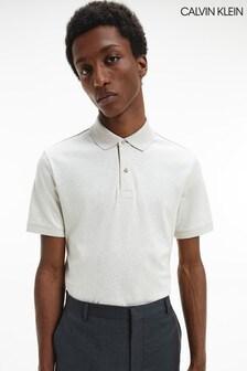 Calvin Klein Brown Liquid Touch Slim Polo