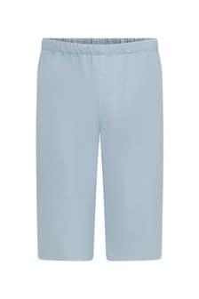 Bonpoint Baby Blue Cotton Trousers