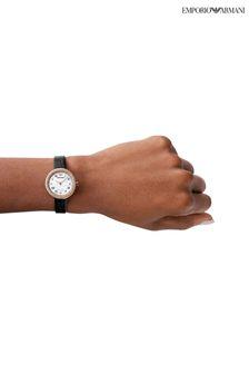Emporio Armani Black Rosa Watch