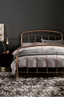 Antique Copper Effect Shoreditch® Footend Bed