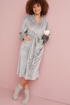 Grey Supersoft Robe