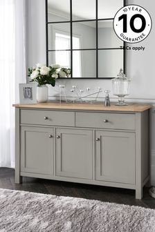 Dove Grey Malvern Large Sideboard