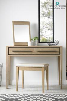 Rimini Oak Vanity Mirror by Bentley Designs