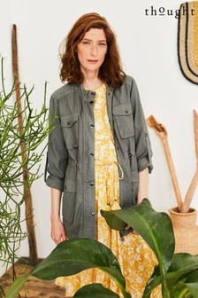 Thought Green Cora Utility Jacket