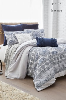 Peri Home Matelass Medallion Duvet Cover