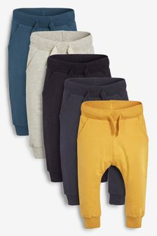 Multi 5 Pack Scandi Joggers (3mths-7yrs)