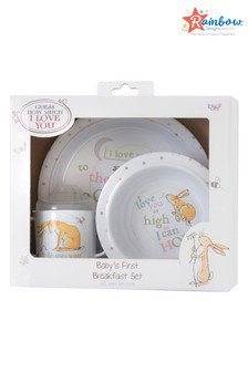 Rainbow Designs Guess How Much I Love You Breakfast Set
