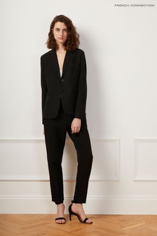 French Connection Black Whisper Ruth Tailored Trousers