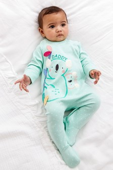 Daddy Koala Single Sleepsuit (0mths-2yrs)